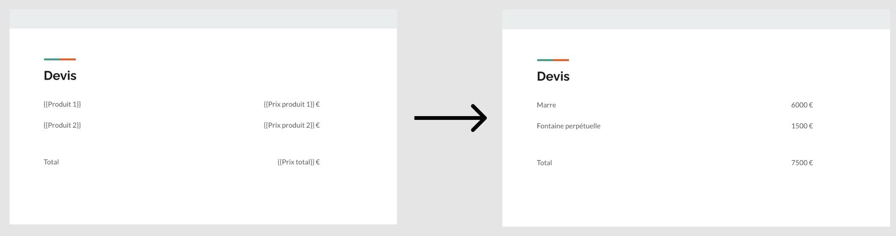 Créer un devis automatique avec Google Slides