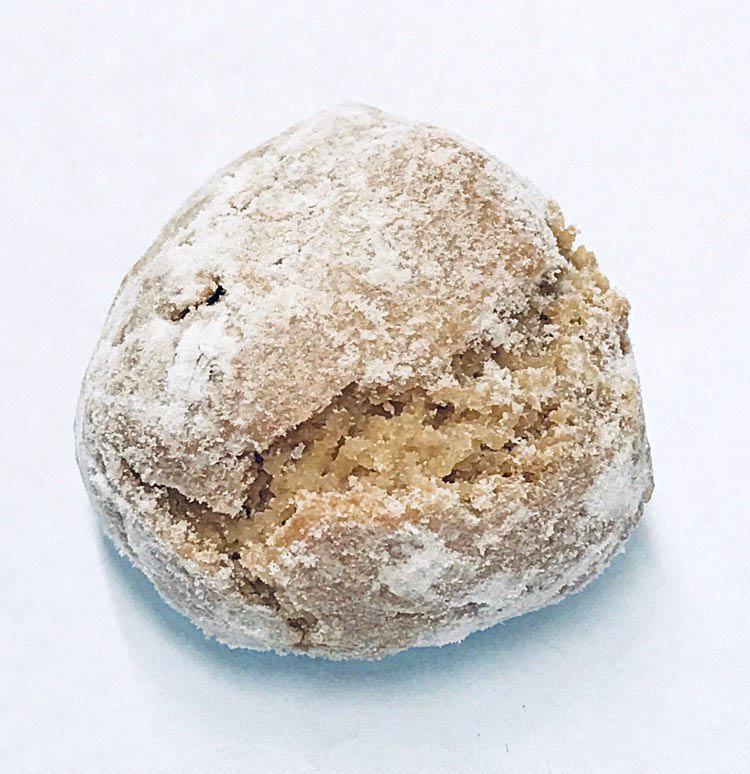 Amaretti - Dei hausgemachten Amaretti von der Bäckerei Fenuta gibt's in vier verschiedenen Sorten: Klassich, Cappuccino, Pistazie und umhüllt mit gerösteten Mandelsplitter