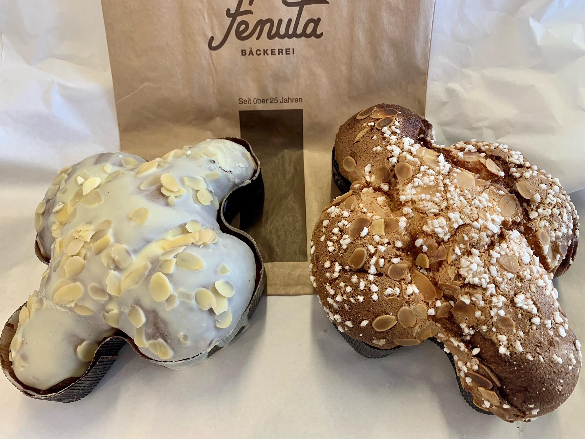 La Colomba Tradizionale für Ostern Frisch aus der Bäckerei Fenuta