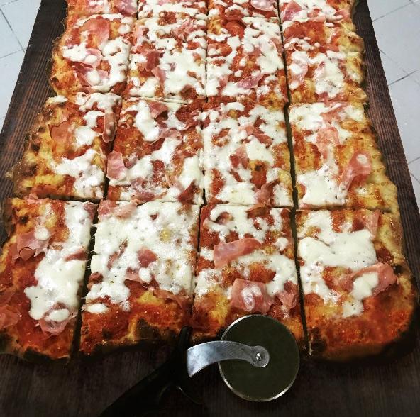 60x40cm Pizza Prosciutto Cotto (Schinken) Take Away