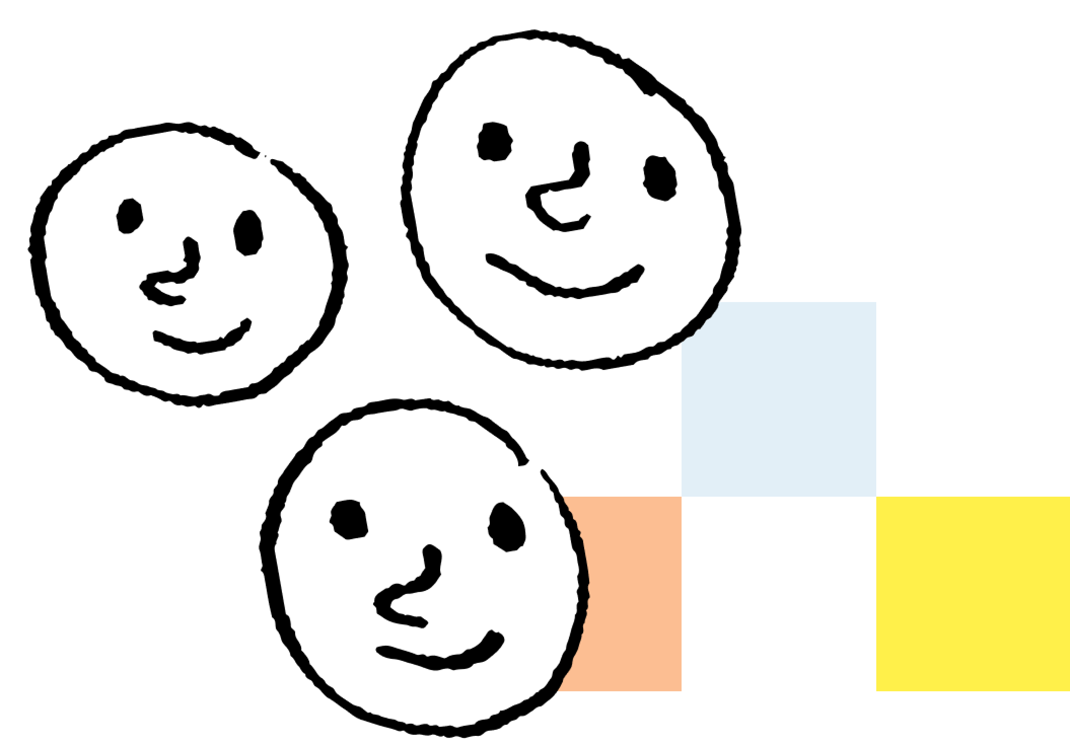 Exygy design and technology agency smiley face pixel