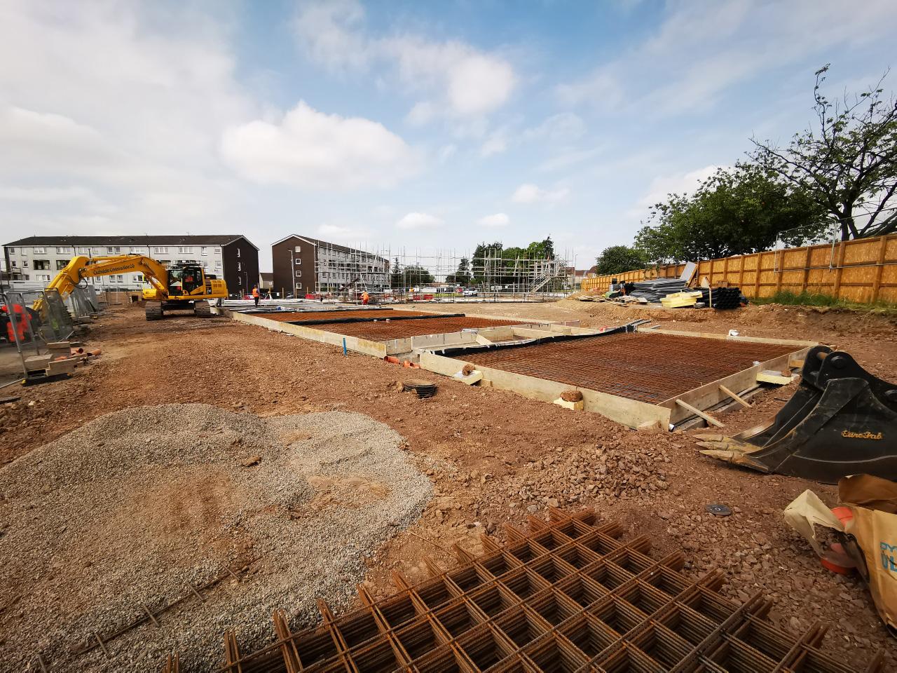 Dalton Avenue construction site