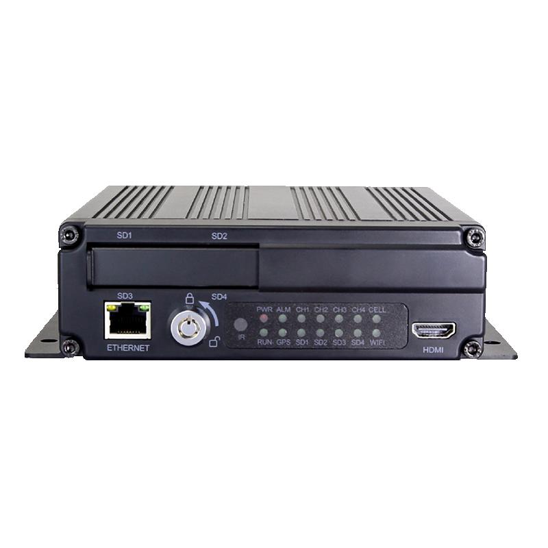 HD 4CH Vehicle DVR Recorder HD4CH