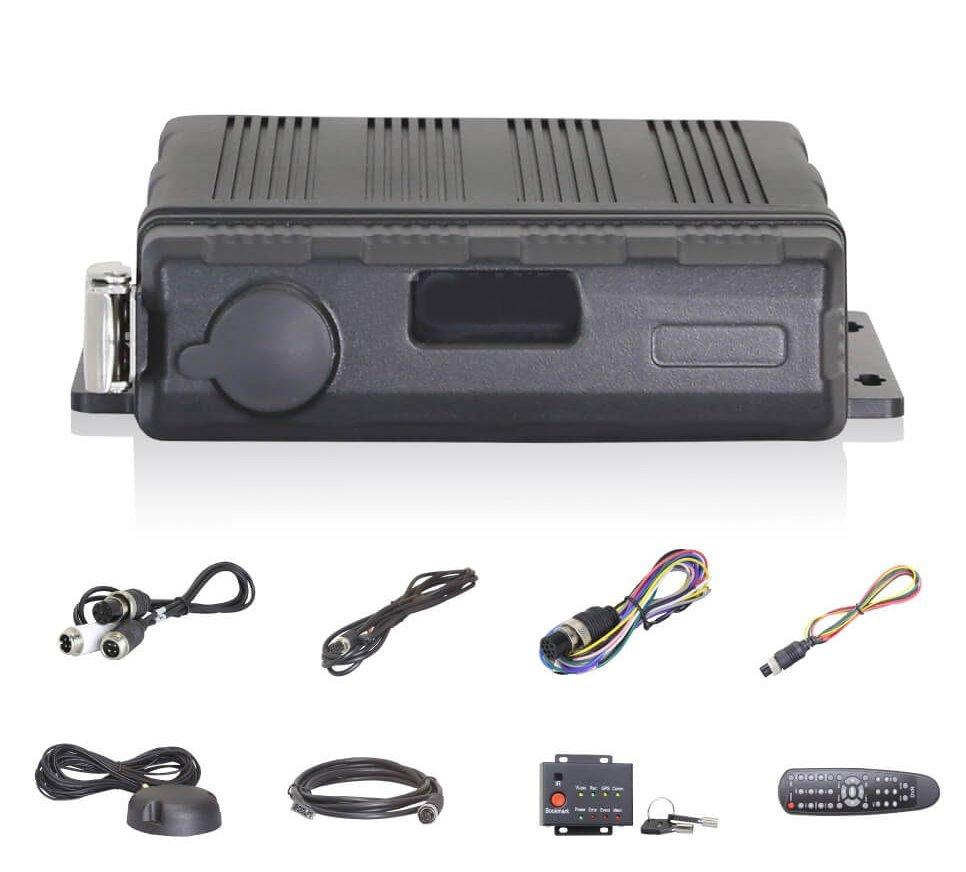 HD 4CH Waterproof Vehicle DVR HD-4WP