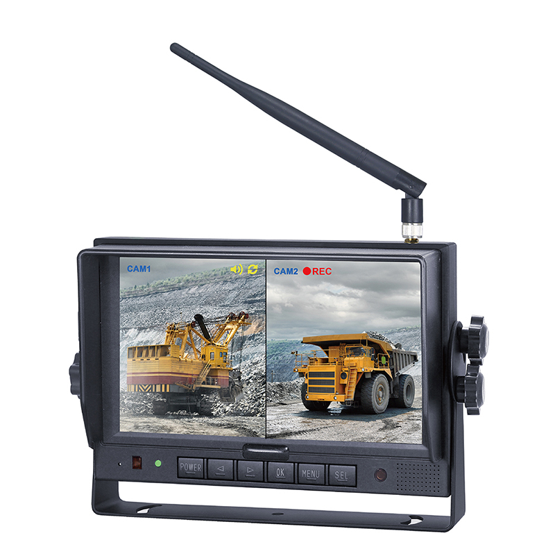 "7MRW is a 7"" High Definition Colour TFT-LCD Screen Single View Digital Wireless Monitor with Built-in Recorder Micro SD Card 128GB max."