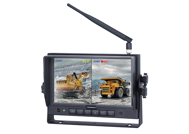 "7"" Wireless digital monitor recorder 7MRW"