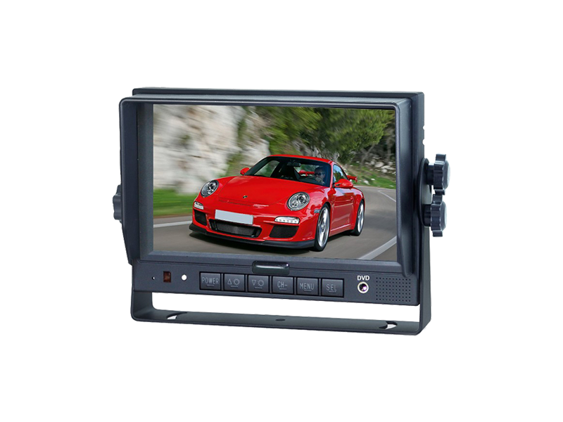 "7"" Single View Vehicle Monitor 4 CH 7 EHD"