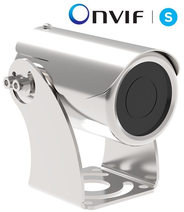 IP Stainless Steel IR Bullet Camera
