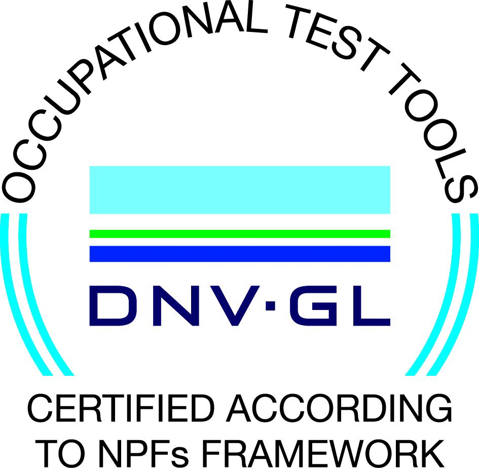 DNV-GL certifiering för tester för arbetsmarknaden i Sverige