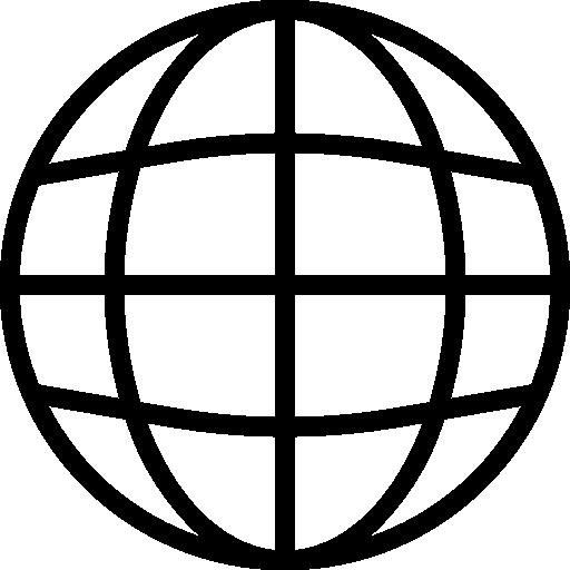 An icon representing website design