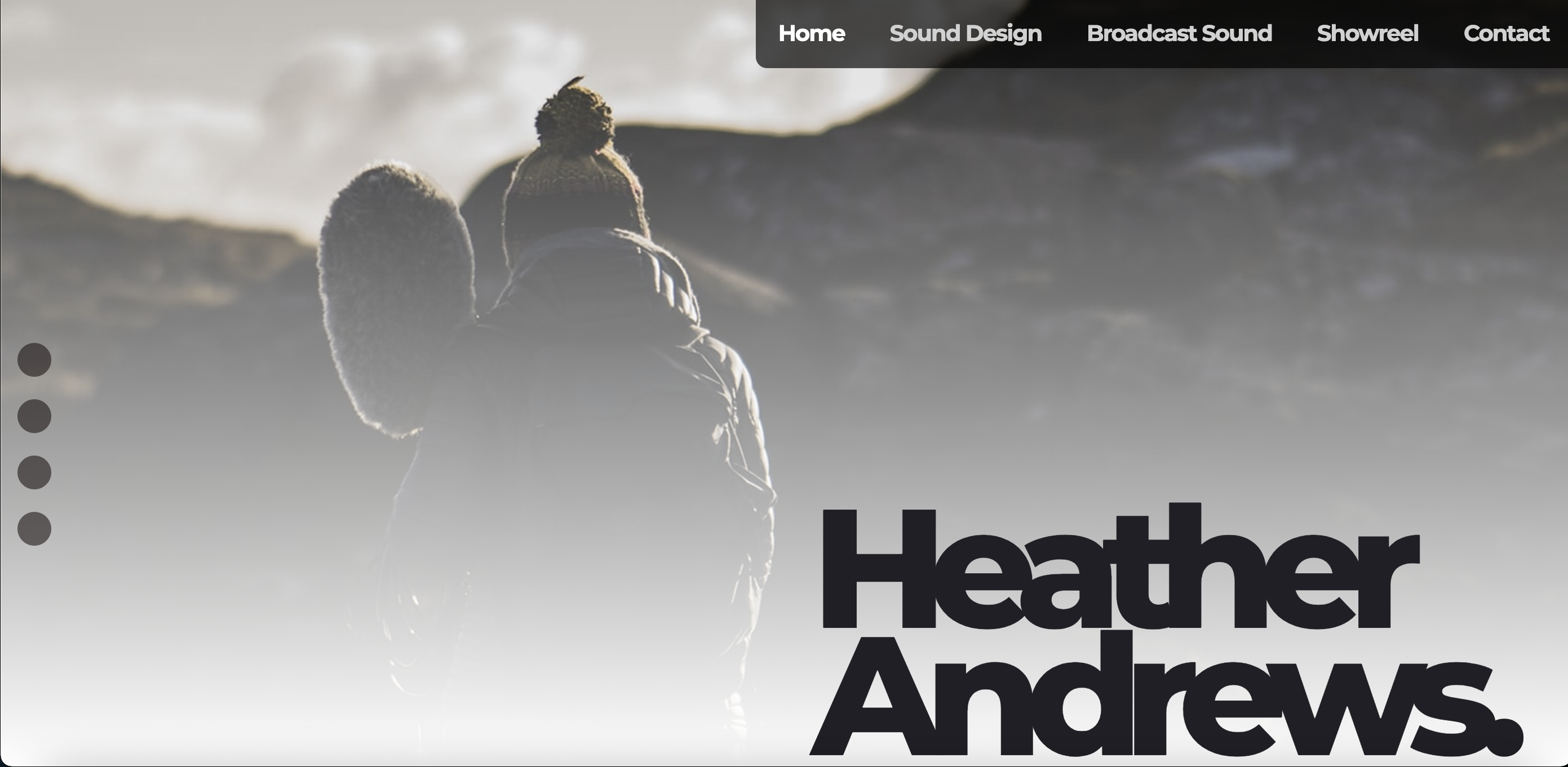 Image of Web Design for Heather Andrews