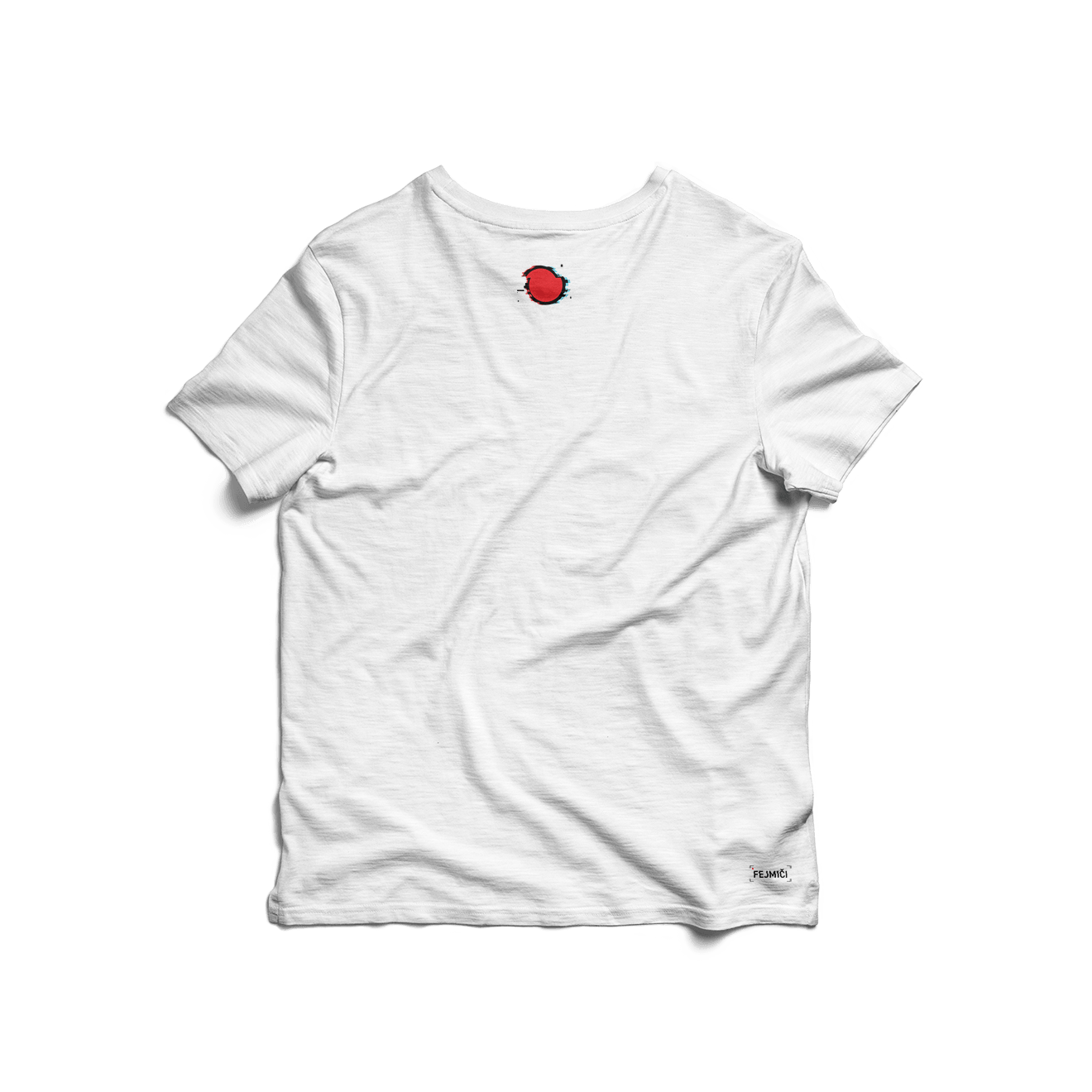 A si Wouk T-shirt back white