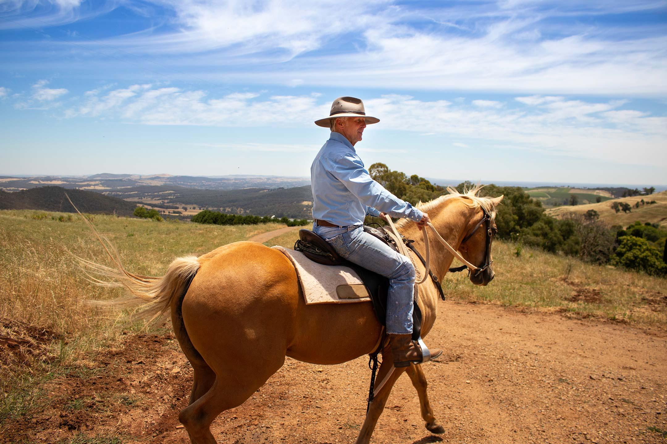 Cowboy at elevation652.