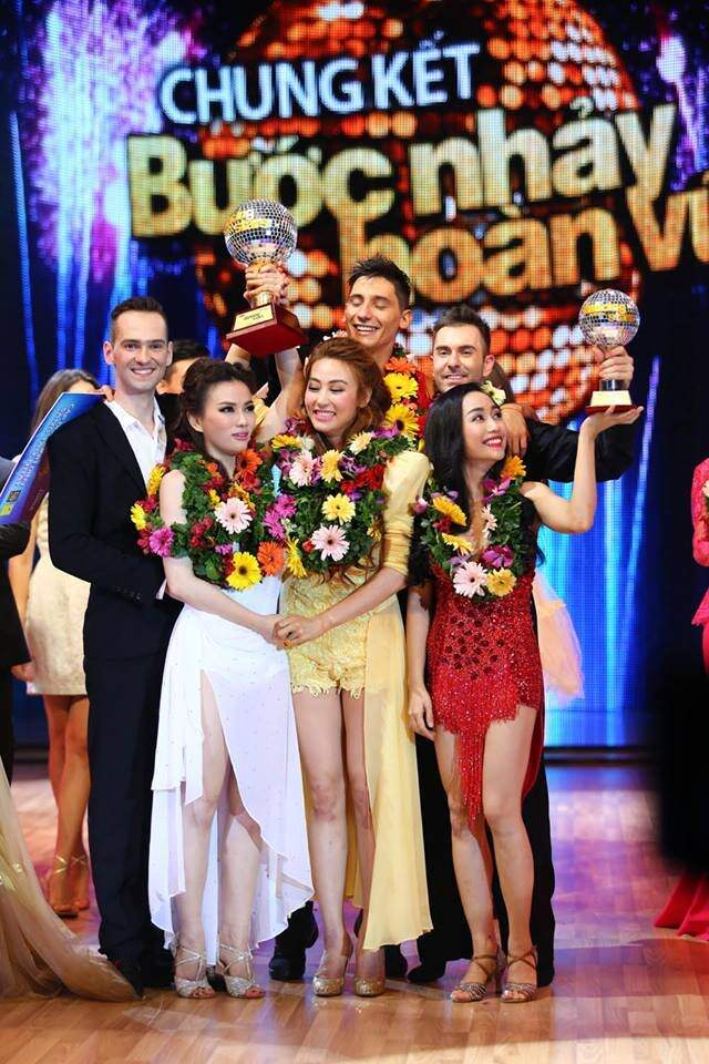 Atanas Malamov winning second place in Dancing with the Stars Vietnam with Oc Thanh Vanh