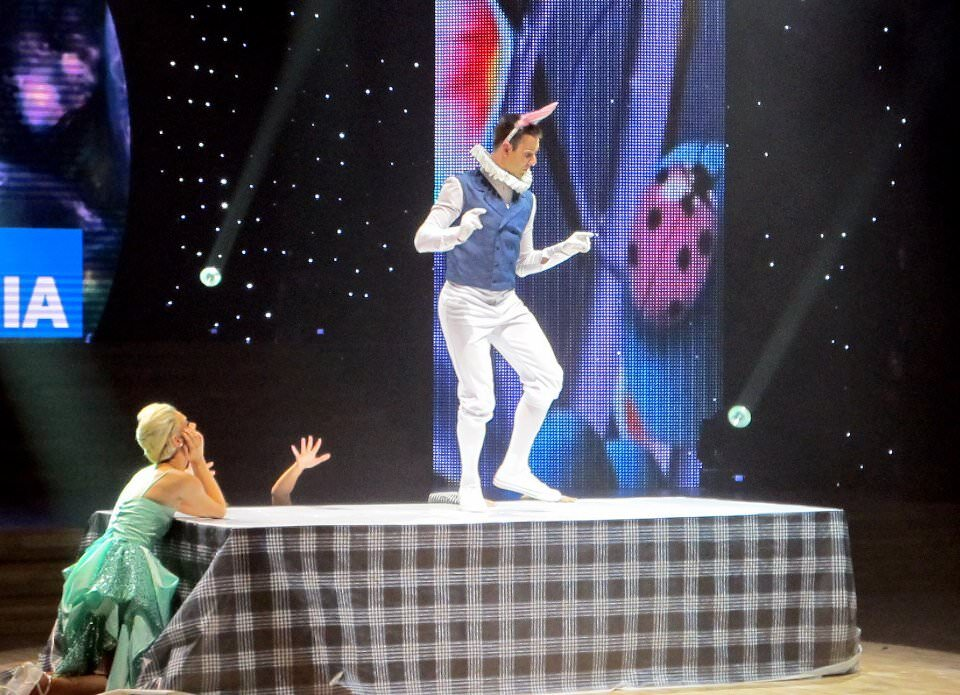 Atanas Malamov Dances in Dancing with the Stars Vietnam