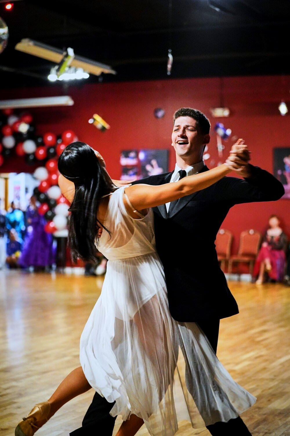 a picture of Adam and Rachel - Dance couple coached by Atanas