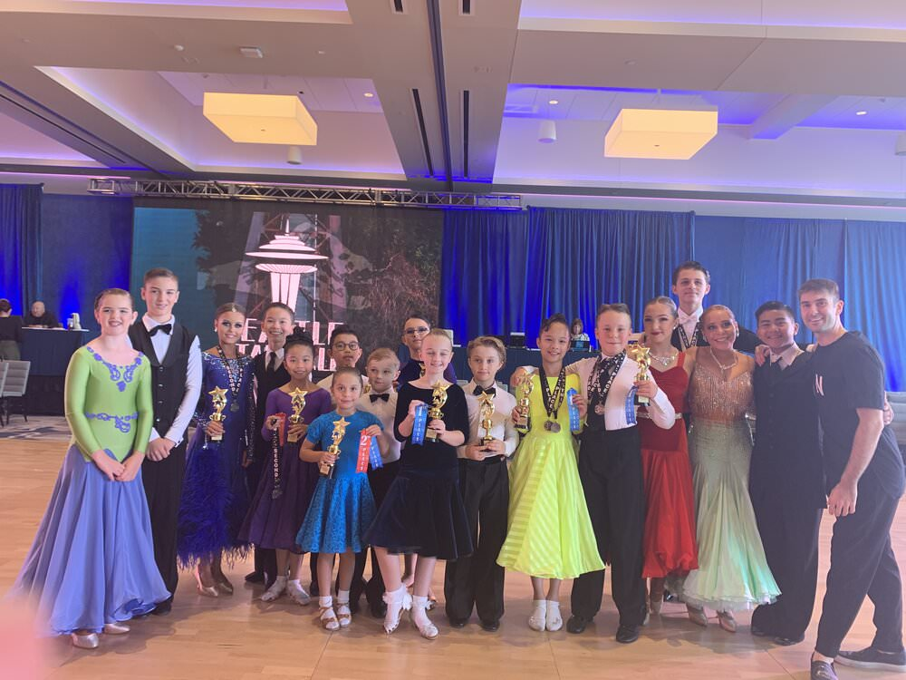 Couples coached by atanas at Seattle Star Ball