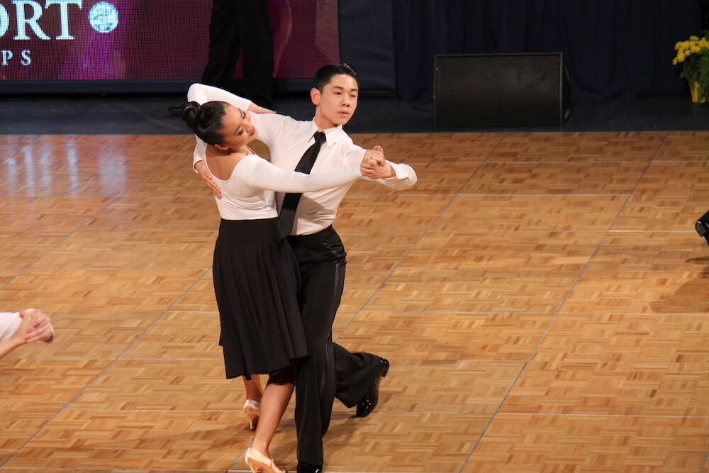 a picture of Miles and Rachel - Dance couple coached by Atanas