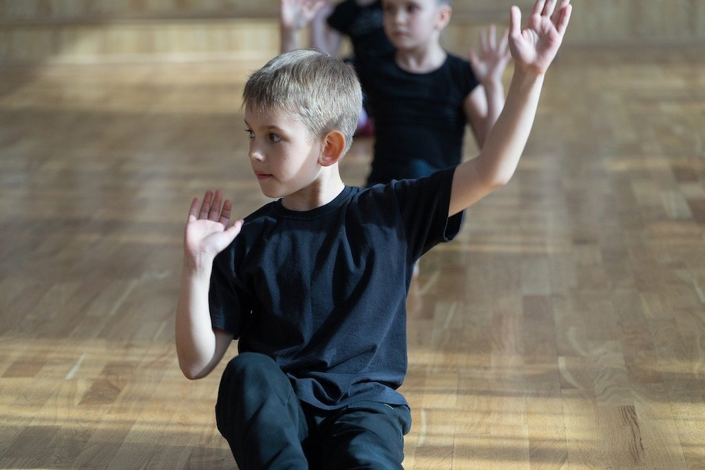Ballroom Dancing provides great and safe exercise for our youngsters