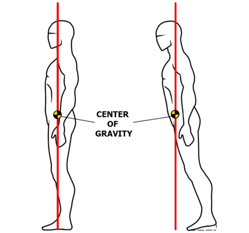 Center of Gravity in Dance