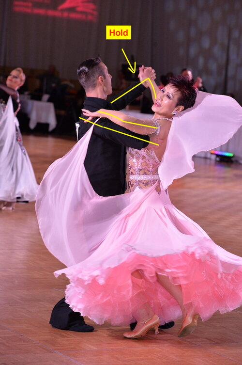 Traditional Ballroom Hold