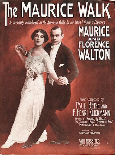 Maurice and Florence Walton- The Maurice Walk- History of Ballroom Dancing