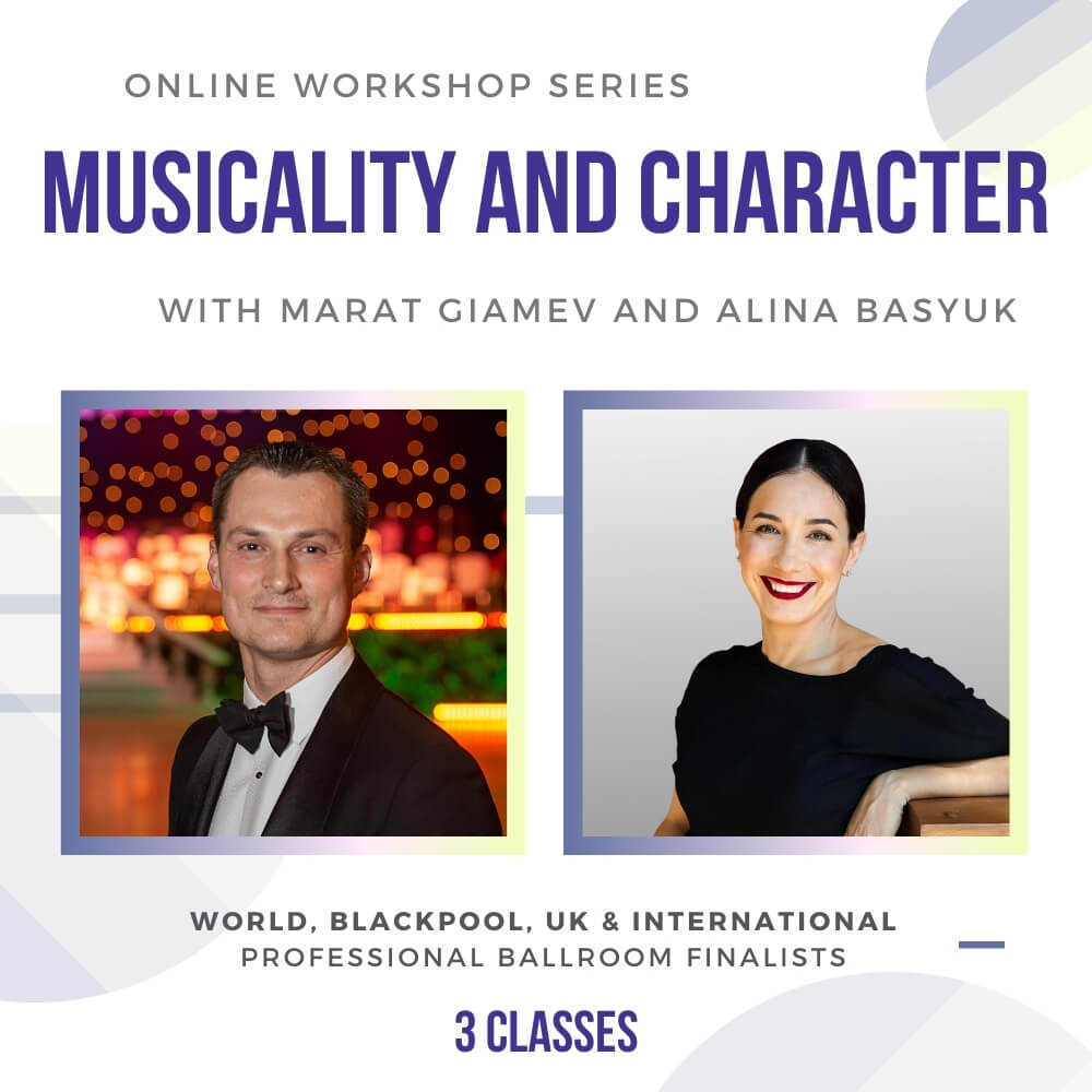 Musicality and Character in Ballroom Dancing