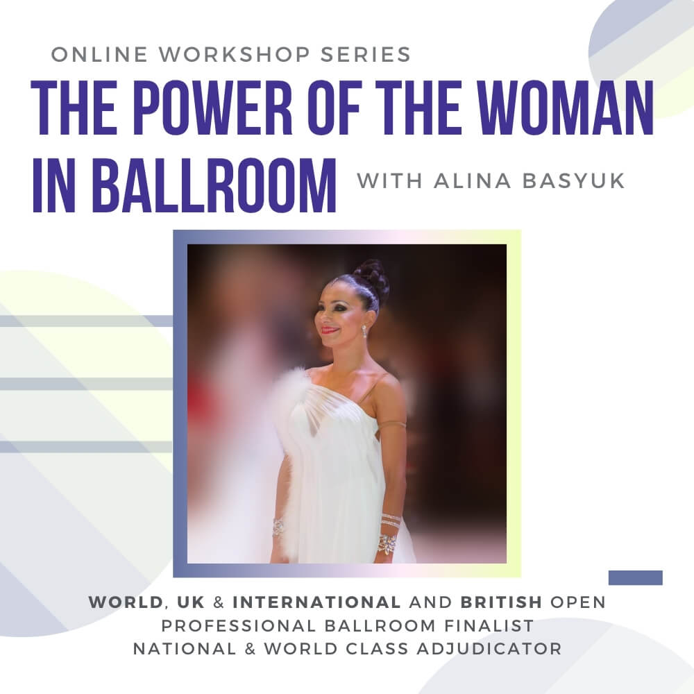 The Power of the Woman in Ballroom Dance