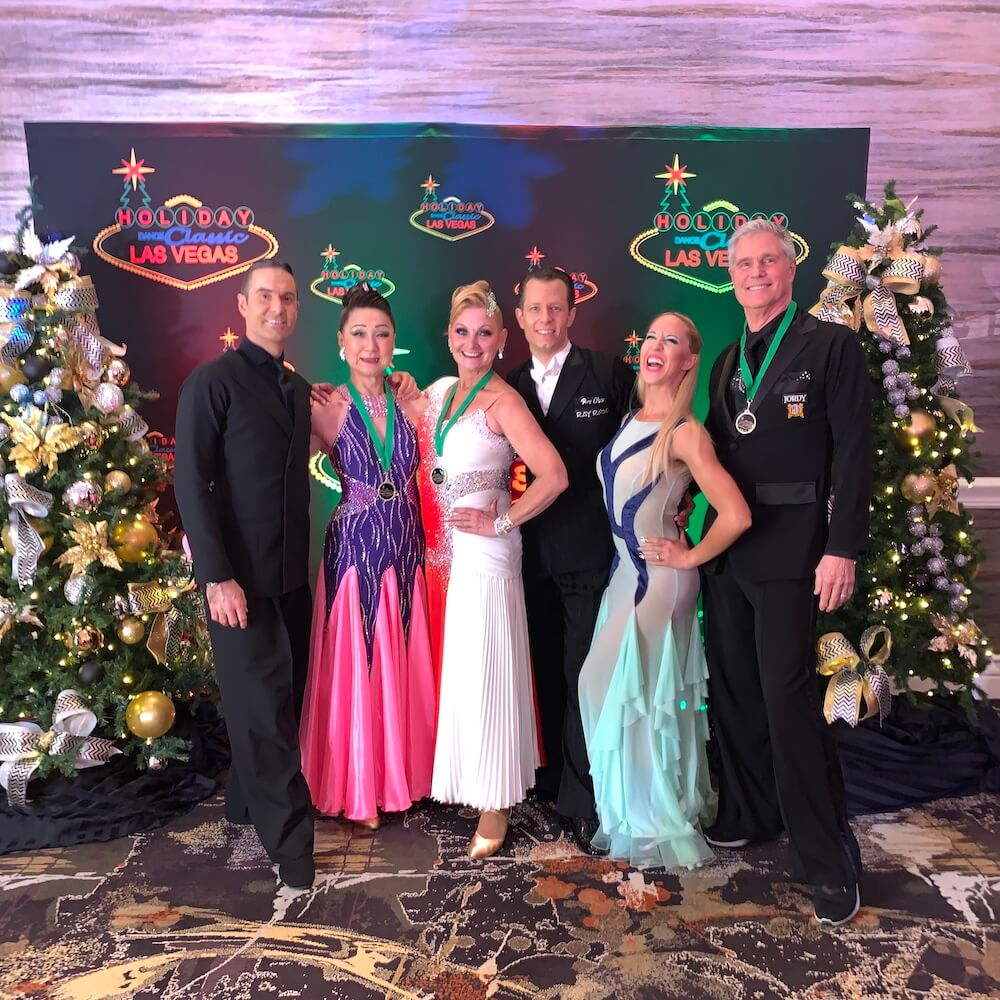 a picture of ballroom dancers at Holiday Dance Classic