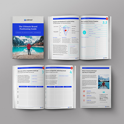 Brand positioning guide workbook to help entrepreneurs and businesses stand out from the competition and attract customers