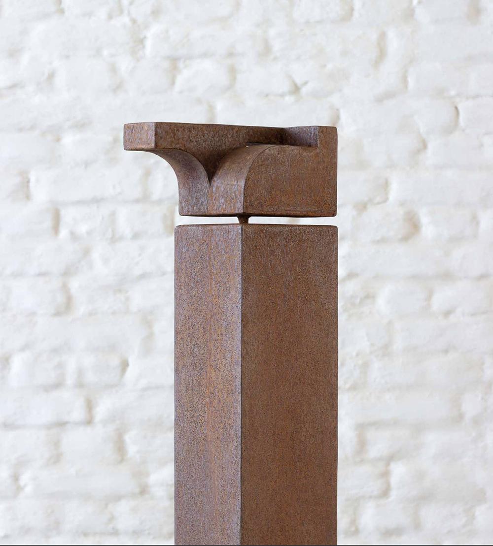 IMG Helen Vergouwen sculpture corten steel alexia werrie gallery outdoor scultpure