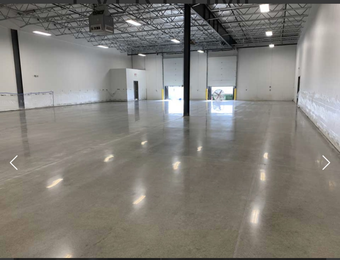 Polished Concrete Flooring In Bakersfield California