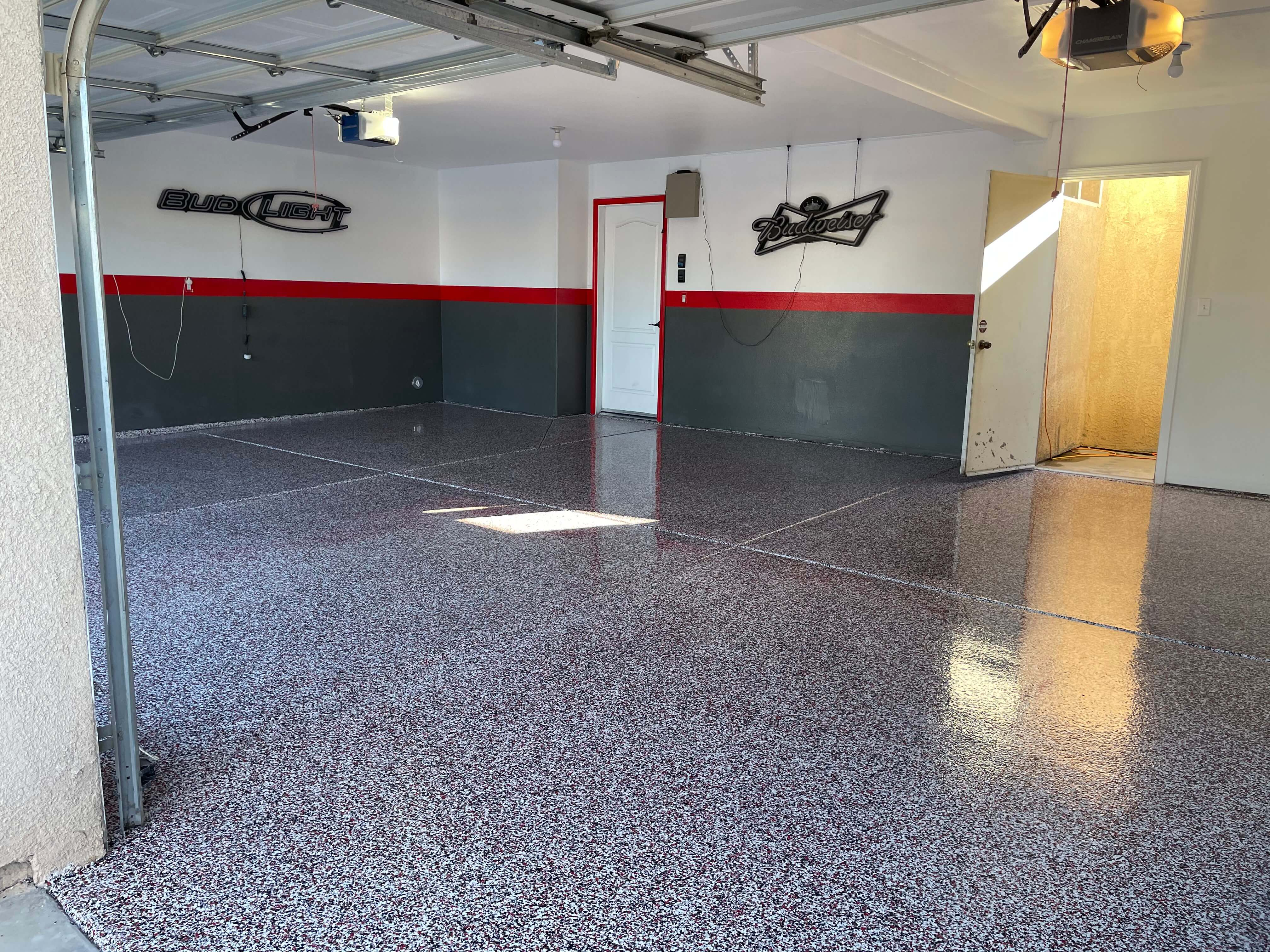 One Day Garage Flooring in Bakersfield California