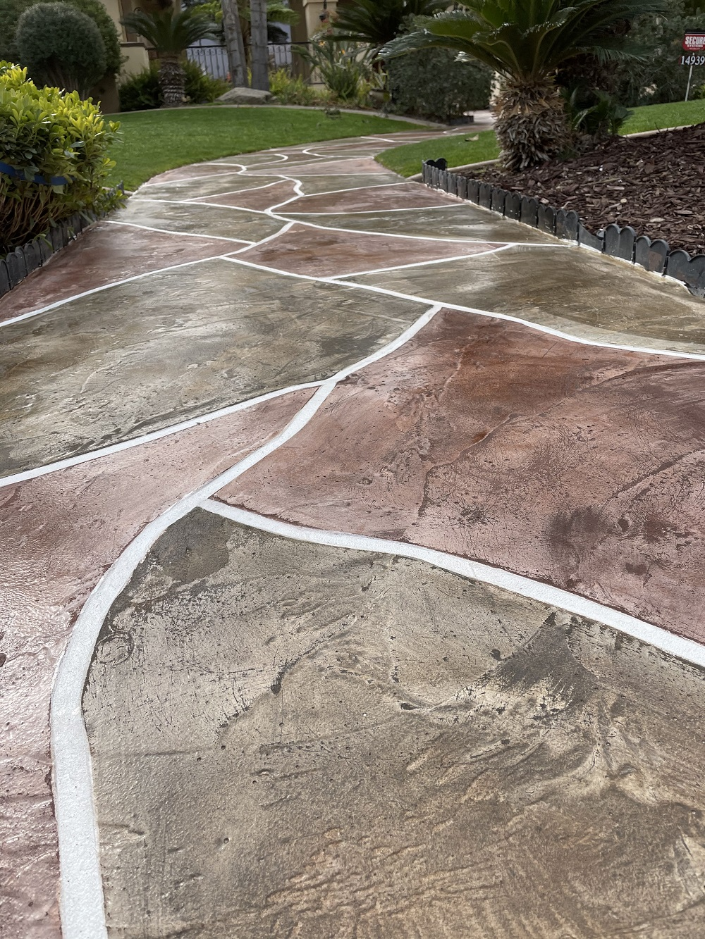 Concrete Outdoor Overlay Bakersfield California Flooring
