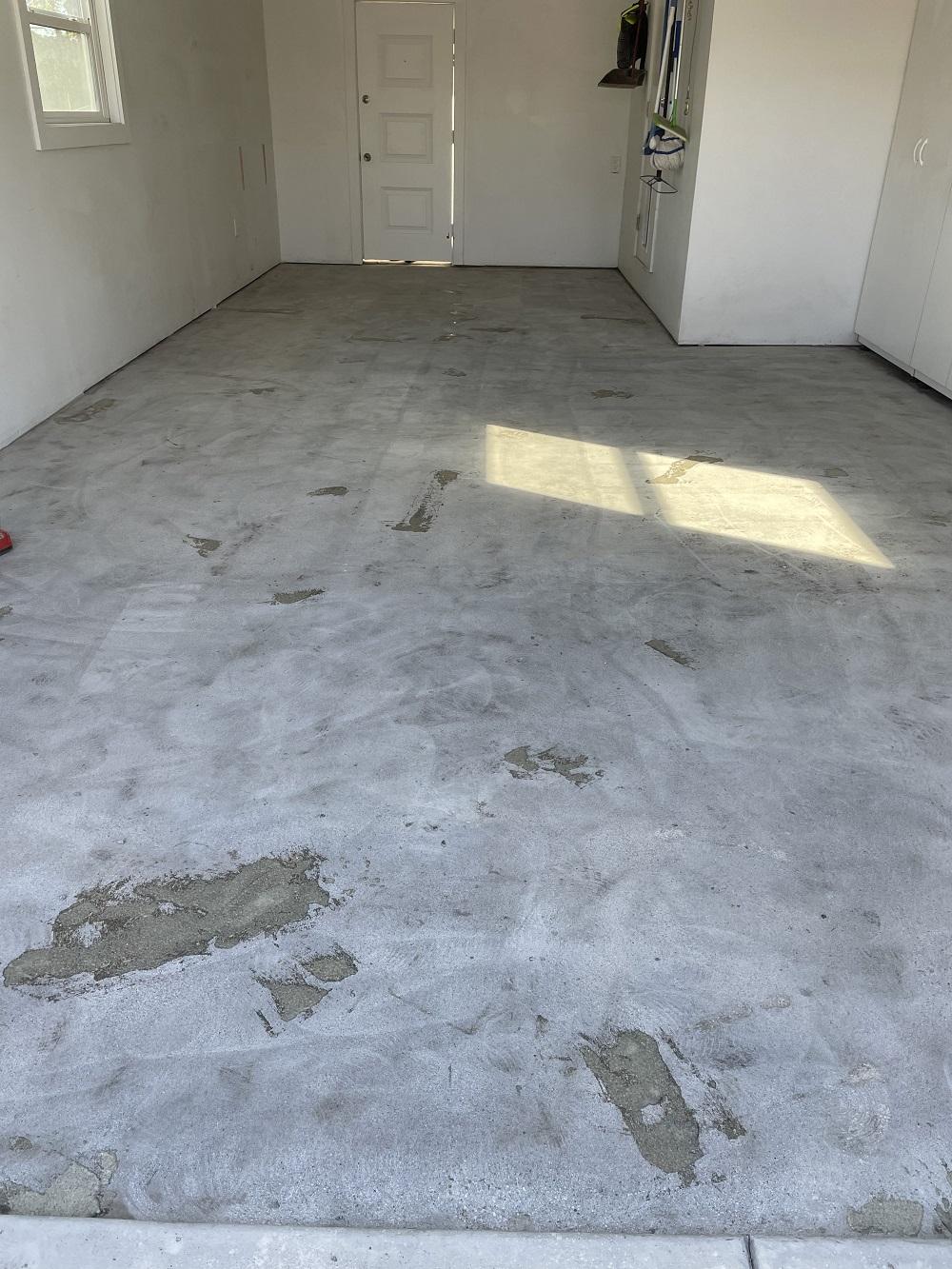 Garage Floor Preparation