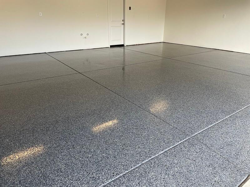 Double Garage Concrete Coating Bakersfield California