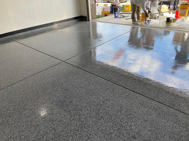 Concrete Coatings Bakersfield Garage