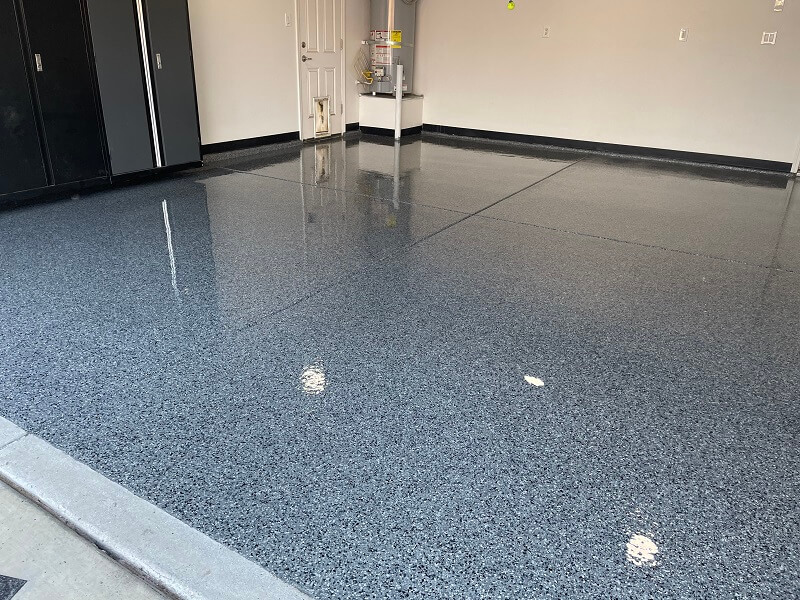 Garage Floor Concrete Coating Bakersfield California