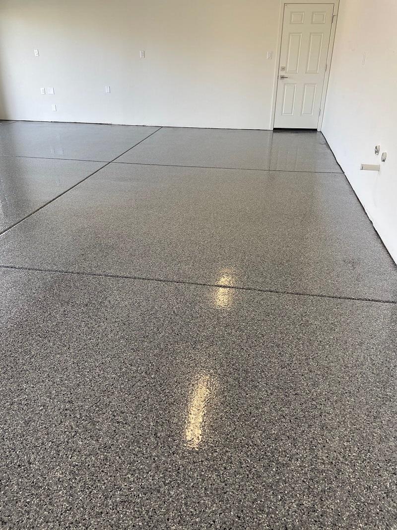 Epoxy Flake Flooring Bakersfield California