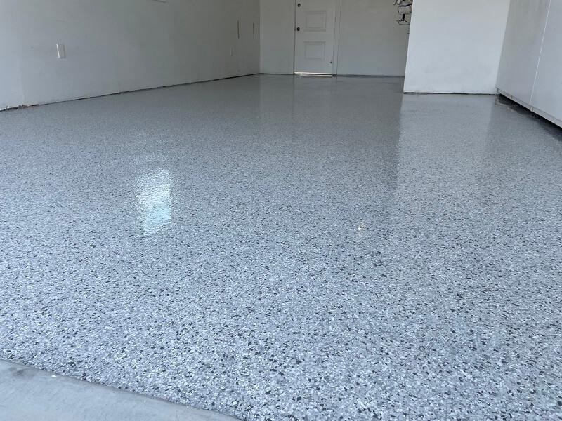 Epoxy Flooring In Garage Bakersfield California