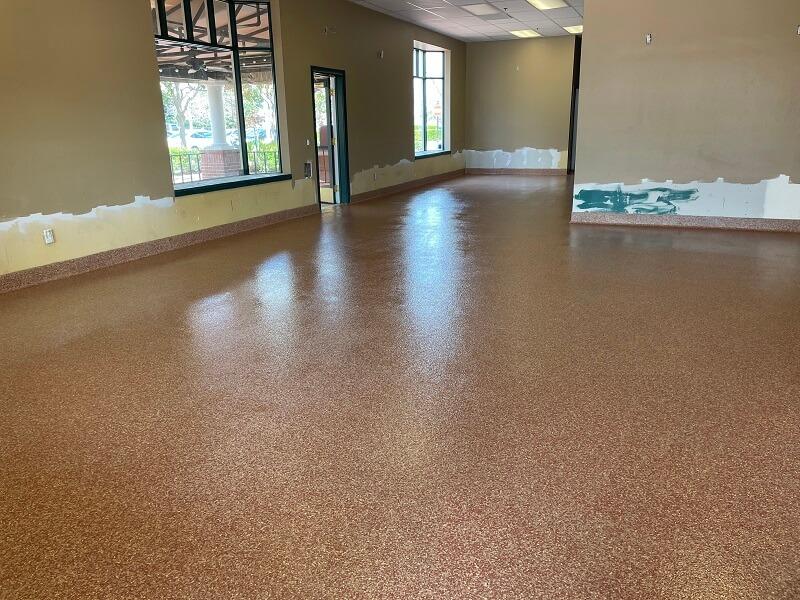 Commercial Kitchen Epoxy Flooring Bakersfield