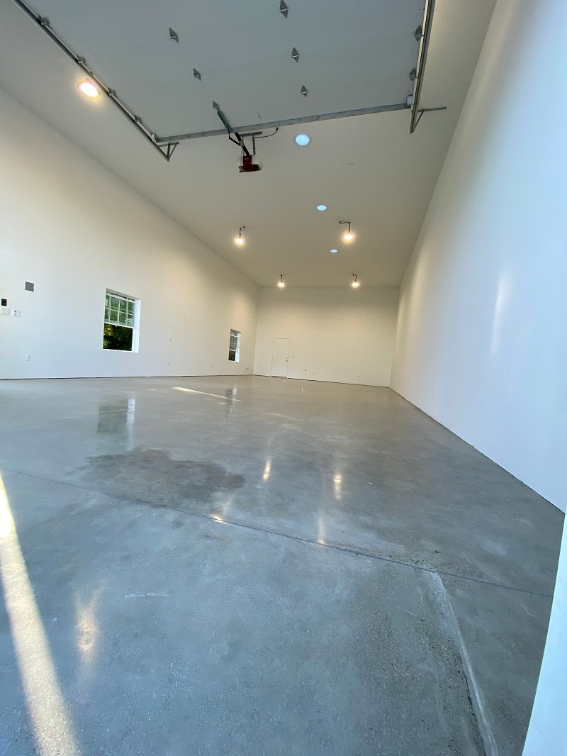 Warehouse concrete flooring in Bakersfield California