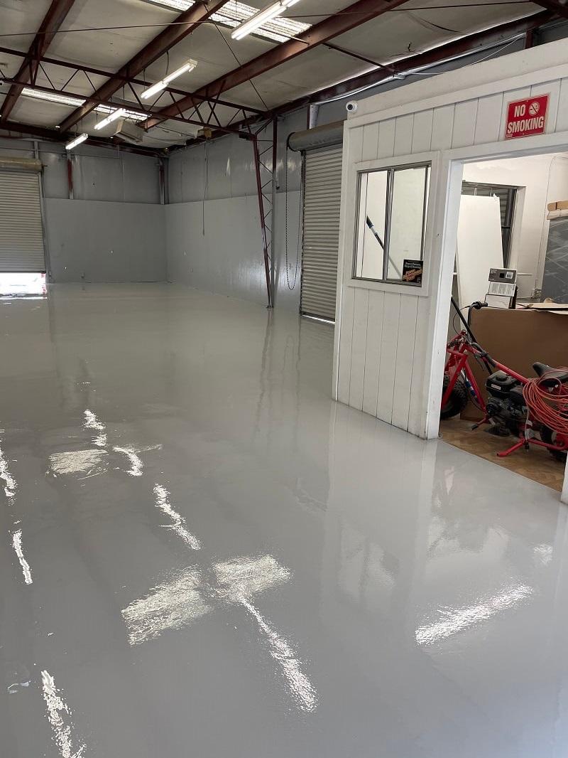 Industrial Warehouse Flooring in Bakersfield California