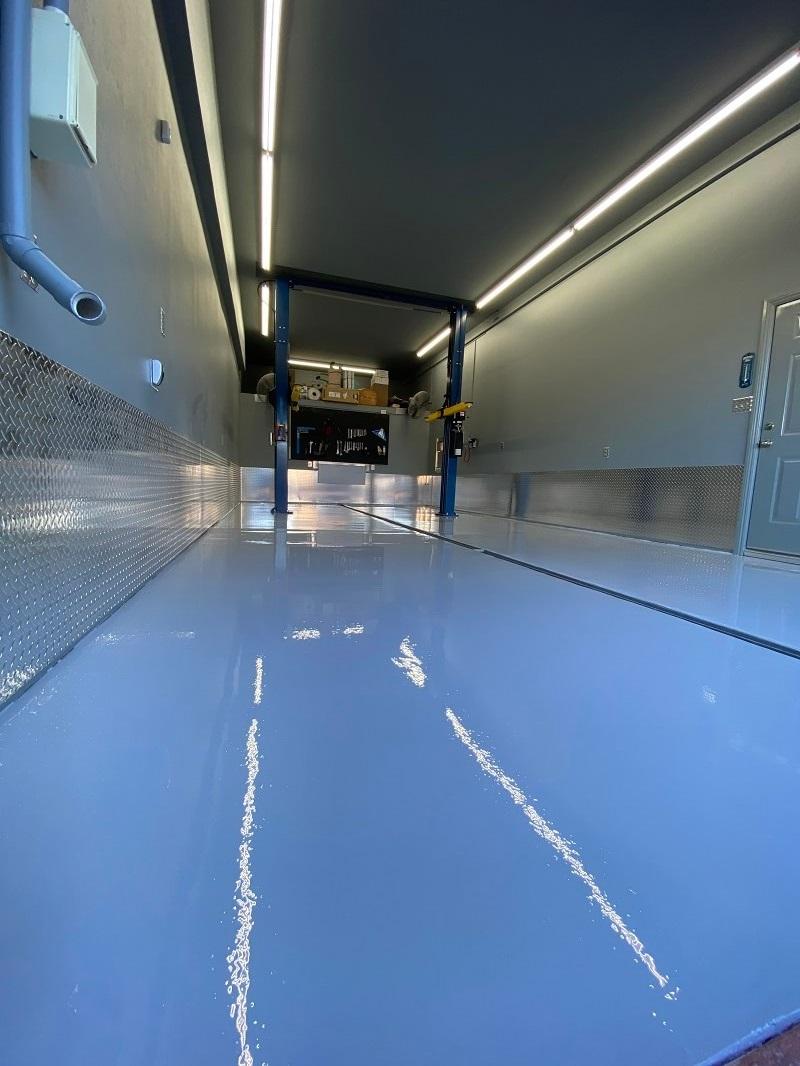 Mechanic Garage Flooring in Bakersfield California