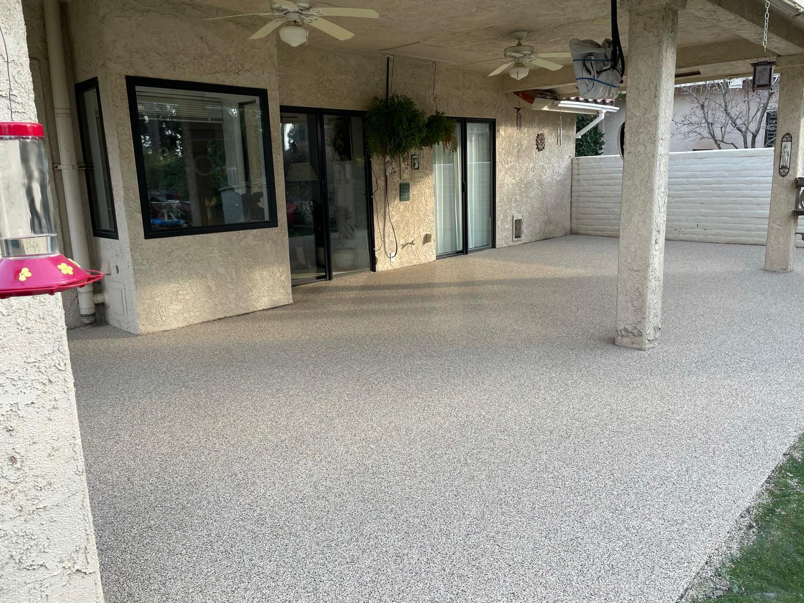 Bakersfield Patio Concrete Coatings