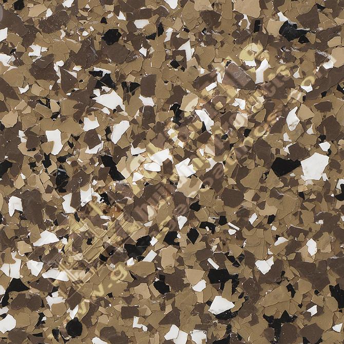 Brown Flake Flooring Bakersfield
