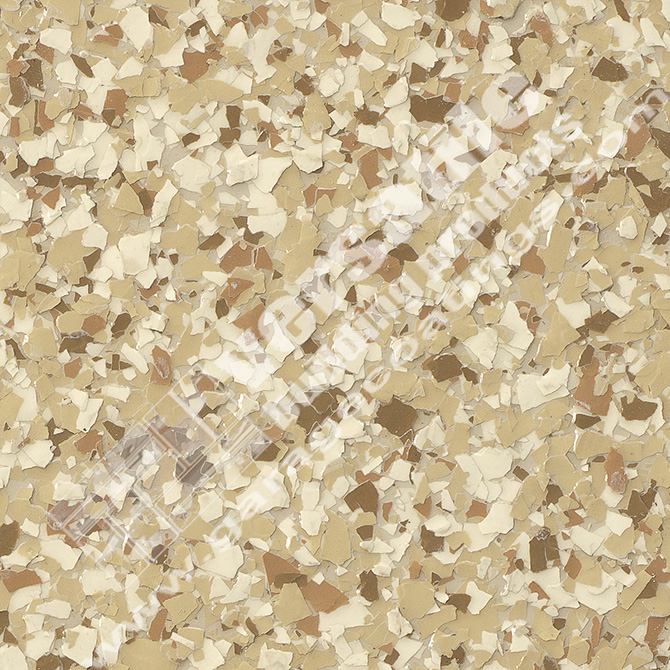 Tan Flake Flooring Bakersfield