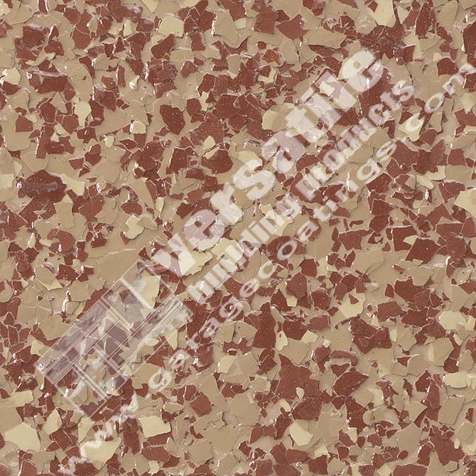 Red Flake Flooring Bakersfield