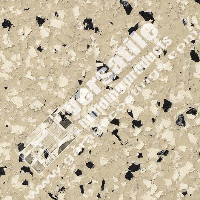 Tan And Bone Flake Flooring Bakersfield