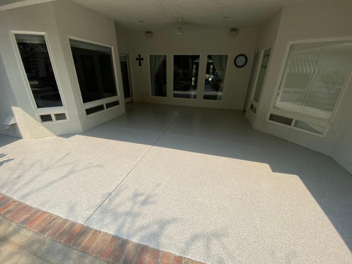 Patio Floor In Bakersfield